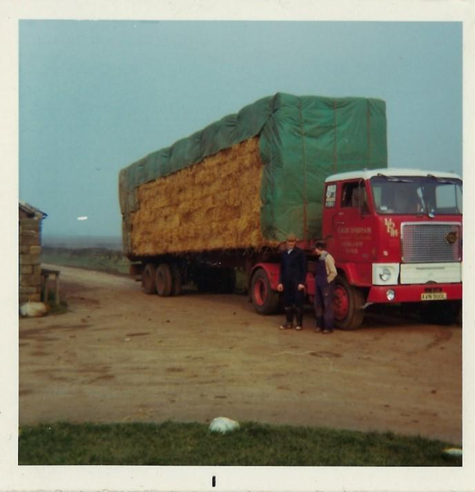 Volvo F88 lorry AVN 900L purchased in the 70's by H.M Richardson