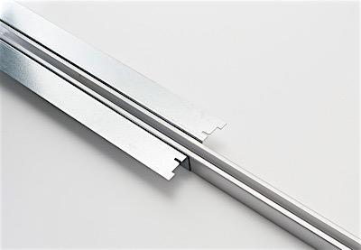 Aluminium track