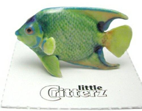 "Little Critterz Miniature Porcelain Animal Beluga Whale /""Sea Canary/"" LC221"
