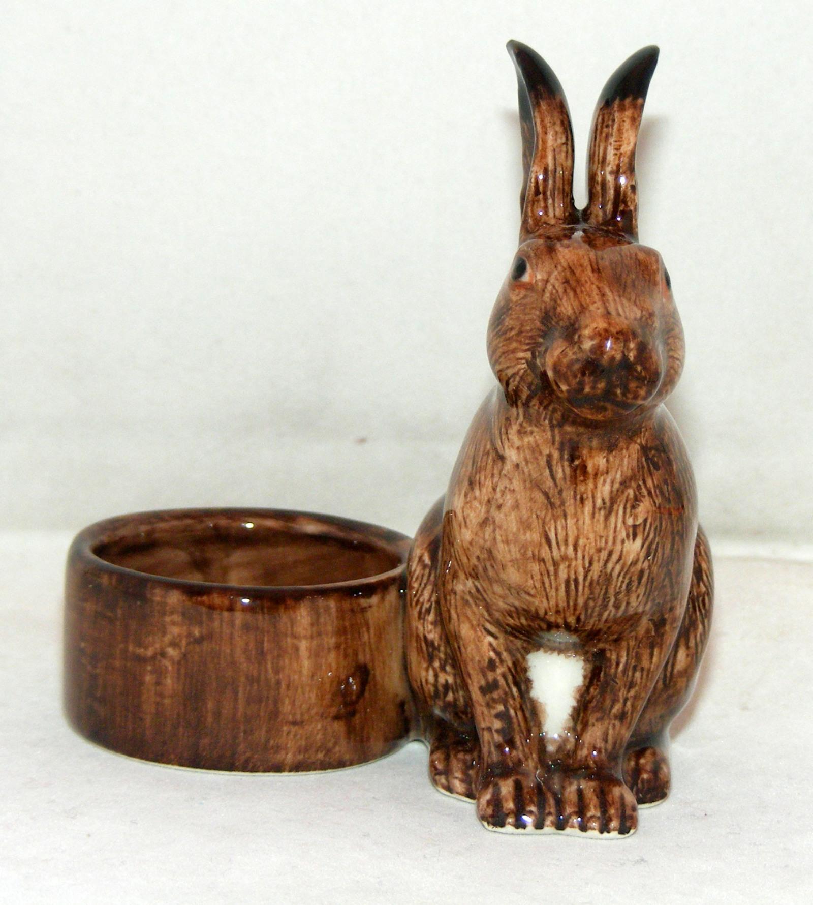 Quail Ceramics Animal Tealight Holder Hare 907