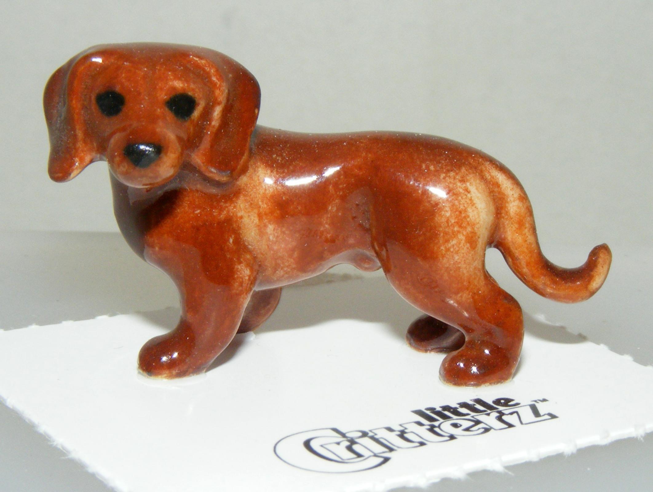 "Little Critterz Miniature Porcelain Animal Pembroke Corgi Dog /""Sasha/"" LC949"