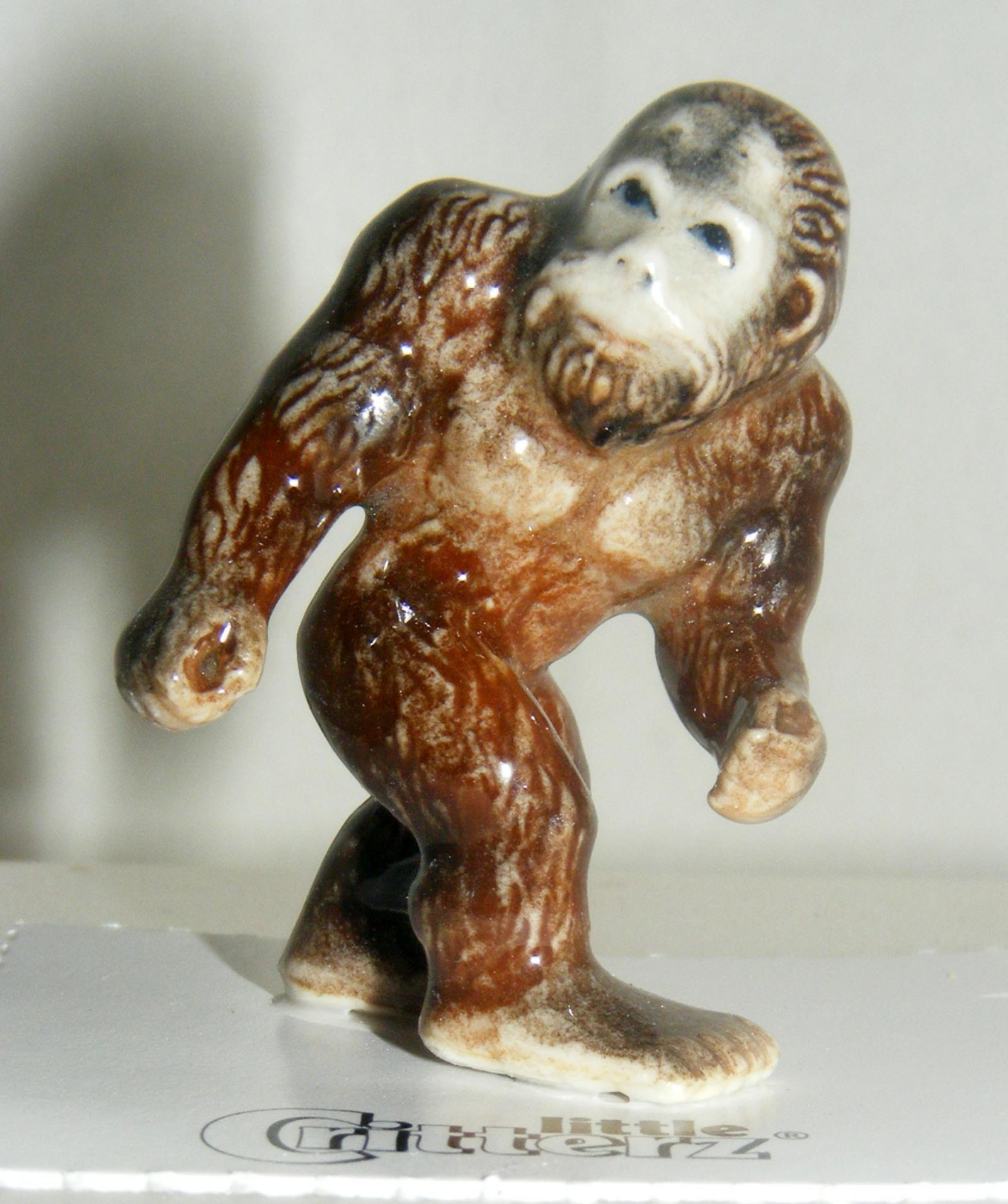 Little Critterz Miniature Porcelain Figure Sasquatch