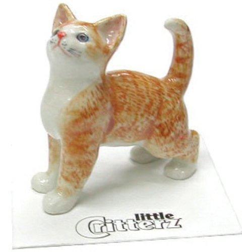 """LITTLE CRITTERZ Cat Ragdoll Kitten /""""Samantha/"""" Miniature Figurine New LC902"""