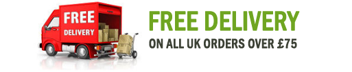 Free Delivery on all UK orders over £75