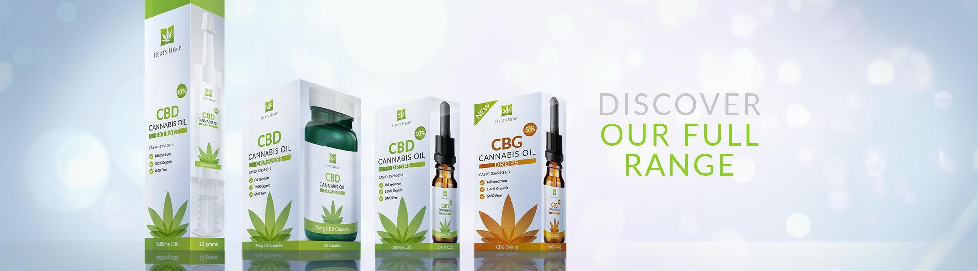 Herts Hemp | Full Spectrum Cannabis Oil with CBD