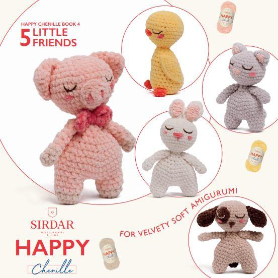 Sirdar Pattern Book BK549<P>Little Friends