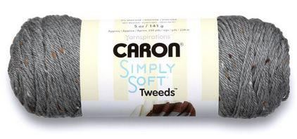 Caron<P>Simply Soft Tweeds