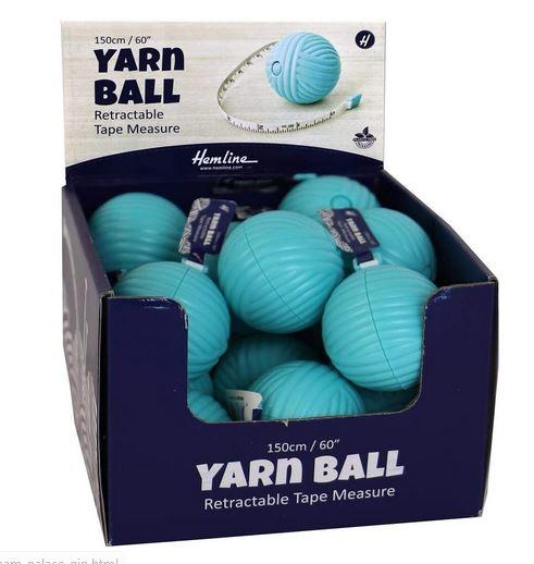 Yarn Ball Retractable<P>Tape Measure