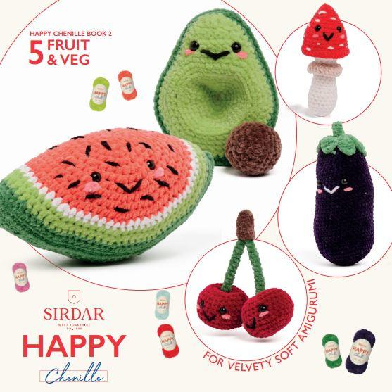 Sirdar Pattern Book 547<P>Fruit & Veg
