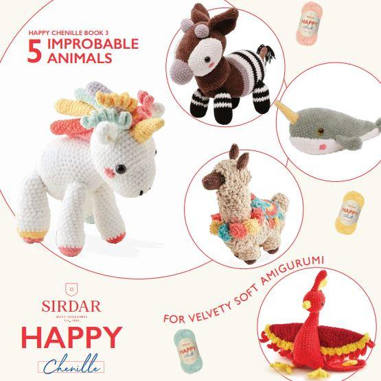 Sirdar Pattern Book 548<P>Improbable Animals