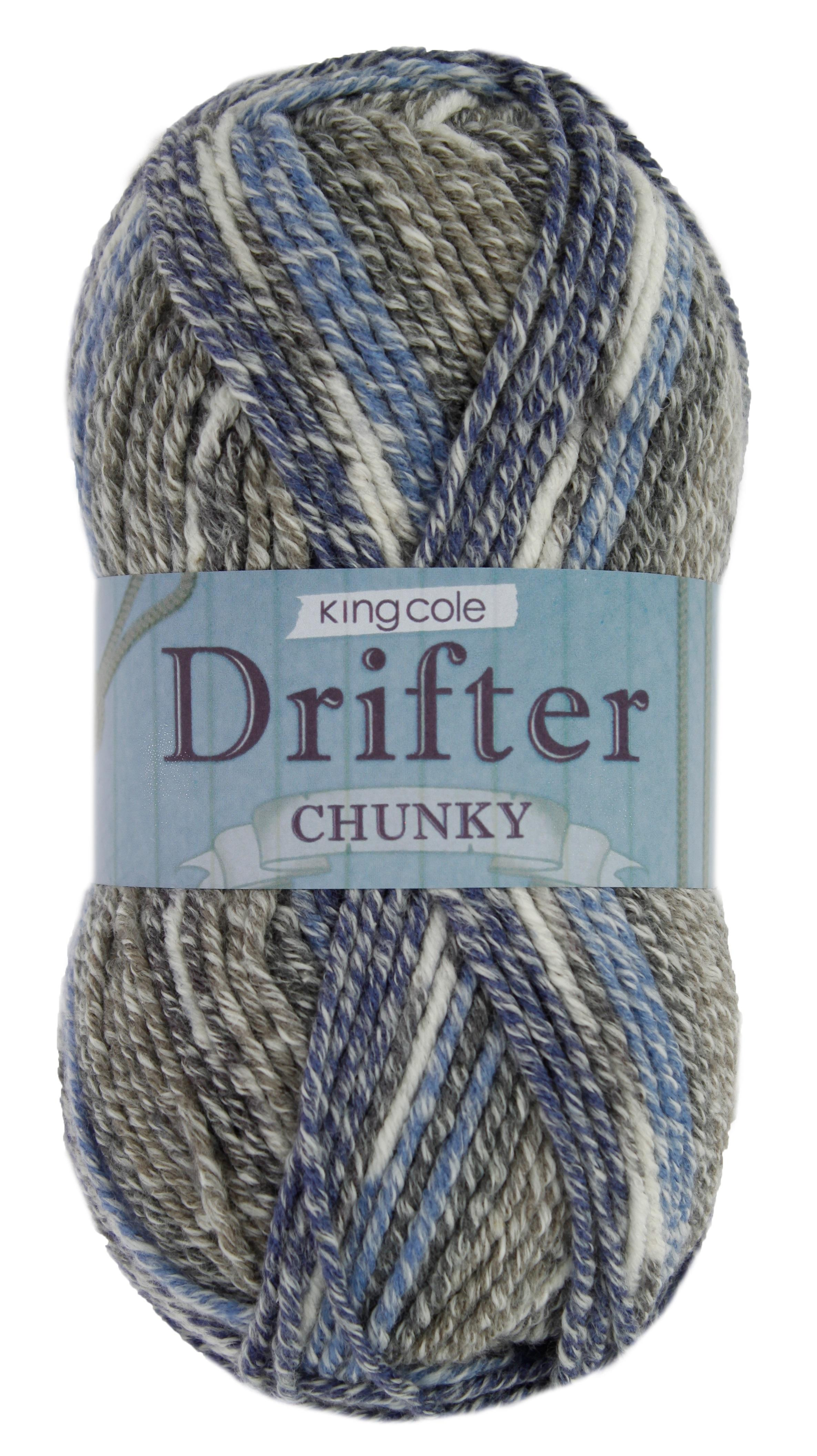 King Cole<P>Drifter Chunky 100g