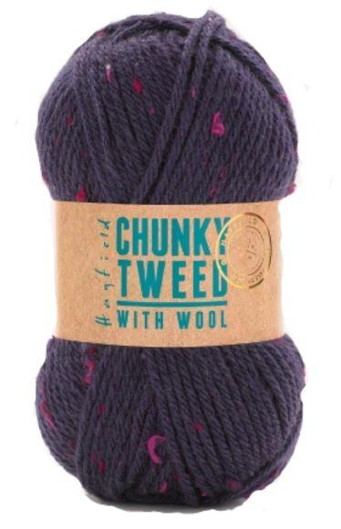 Hayfield<P>Chunky Tweed With Wool