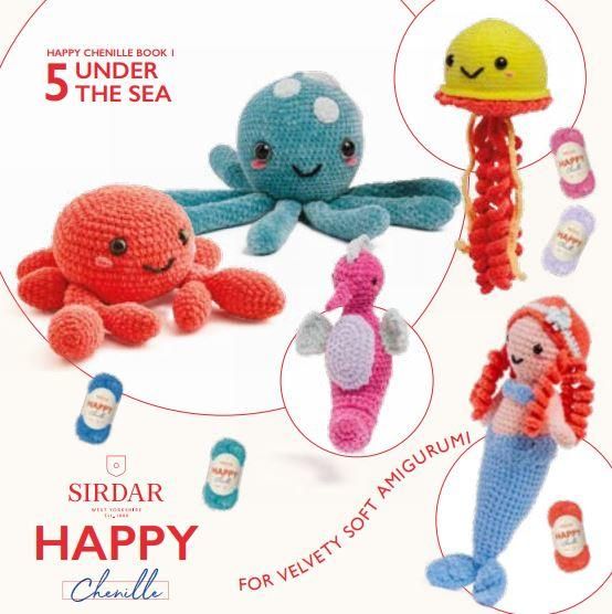 Sirdar Pattern Book 546<P>Under The Sea