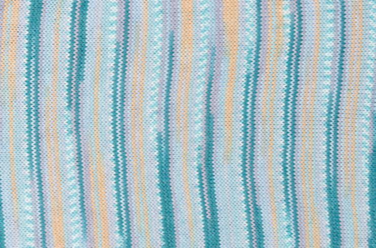 Turquoise Mix 006<P>Knitted sample