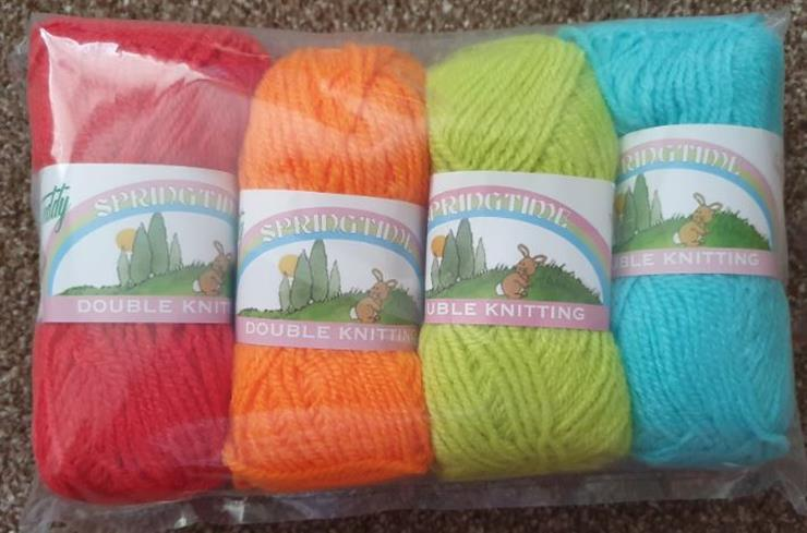 Childrens Knitting Starter<P>Kit - Sample Pack