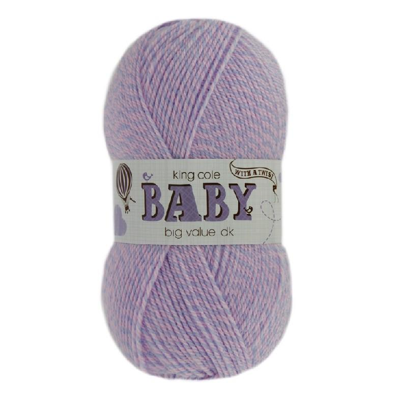 King Cole<P>BV Baby DK With A Twist 250g