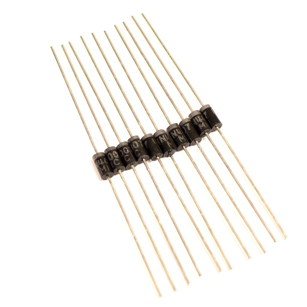 10 Diodes type 1N4007