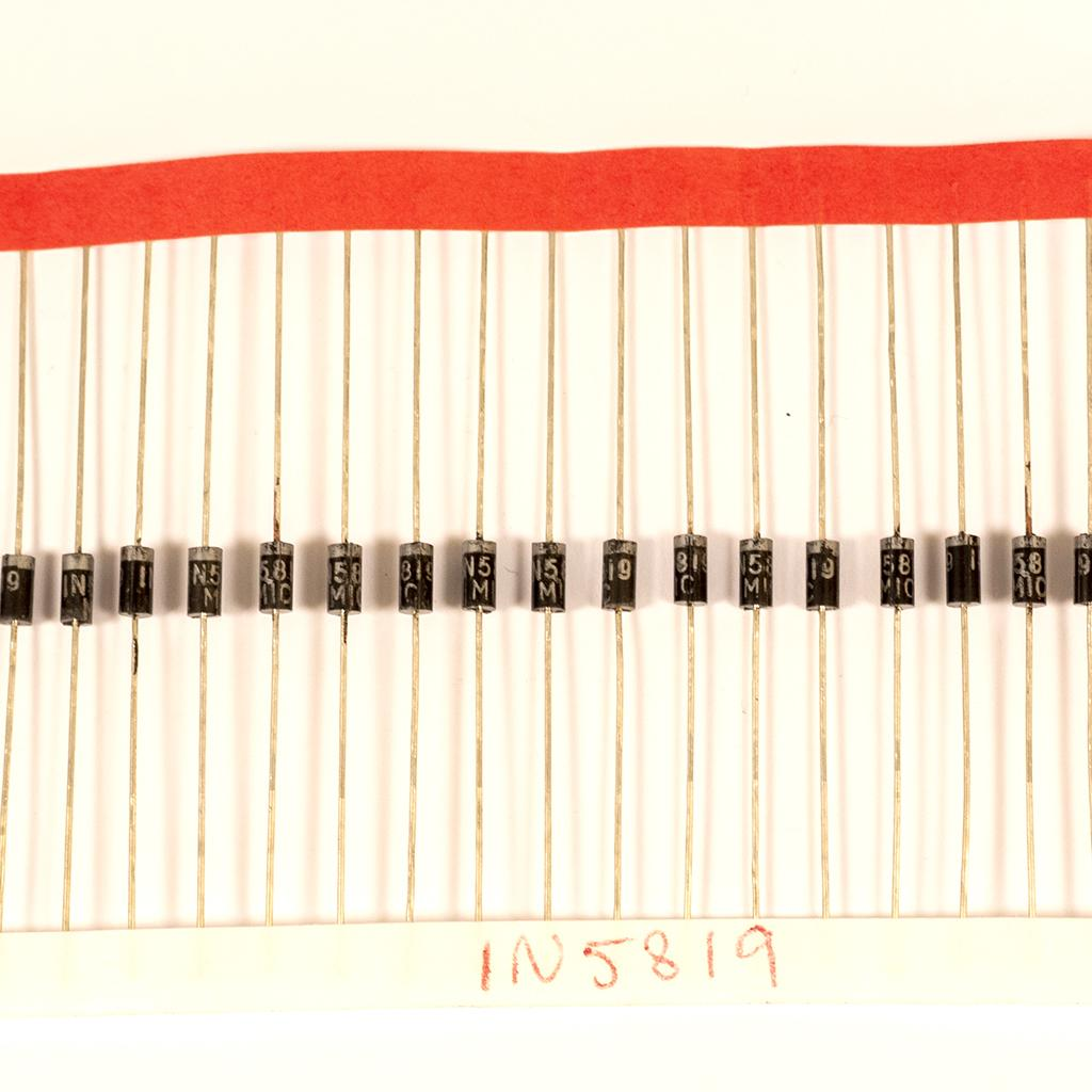Strip of diodes type 1N5819