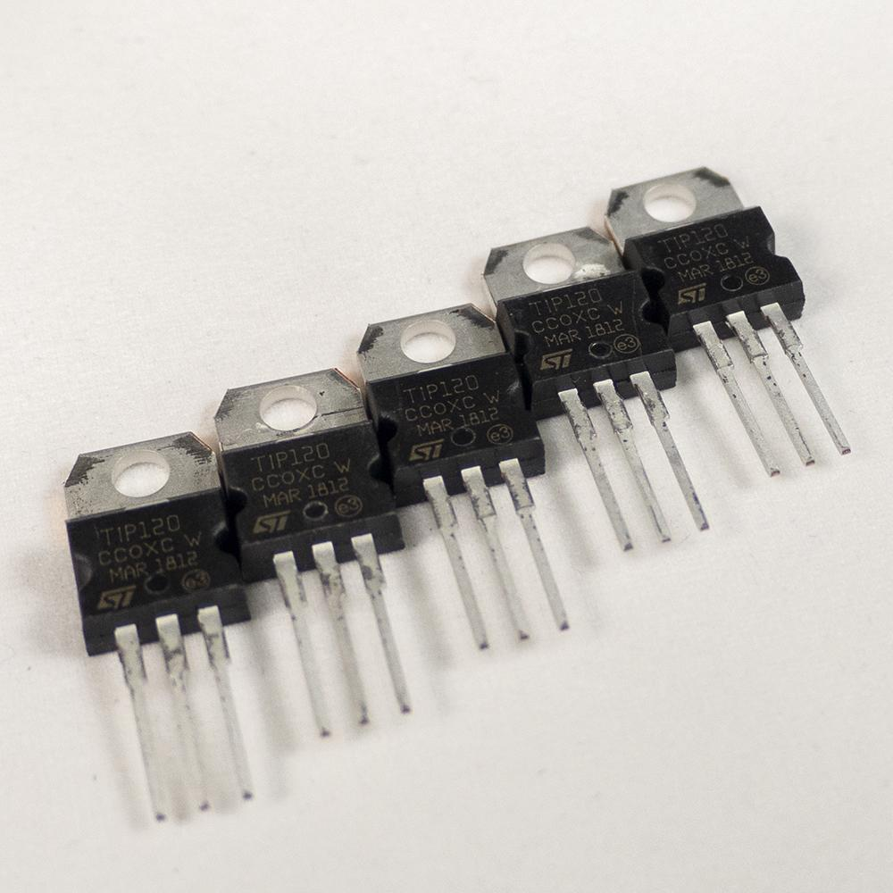 TIP 120 Power Transistor Group of 5