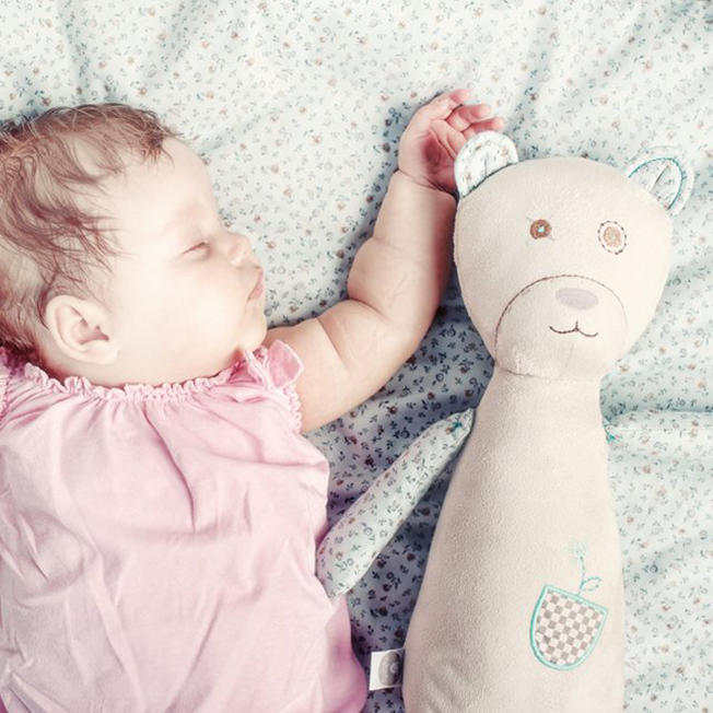 White noise toy created to help babies sleep