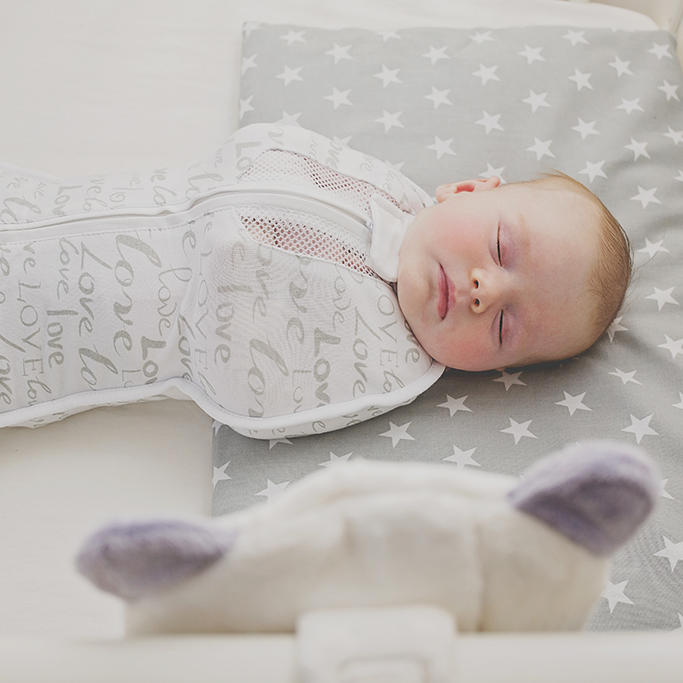 Sleep Sensor reacts to baby waking up