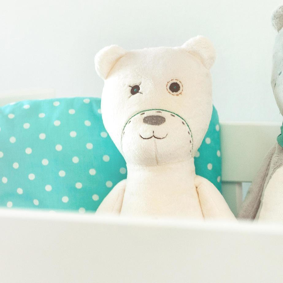 Pearl myHummy original baby white noise toy bear