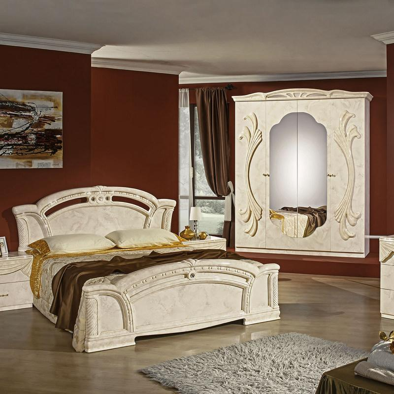 Bedroom Sets with Wardrobe & Dresser