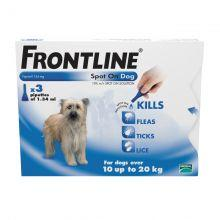 FRONTLINE Spot On Dog Medium - 3 pipettes 3s