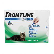 FRONTLINE Spot On Cat - 6 pipettes 6s