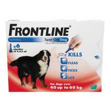 FRONTLINE Spot On Dog XLarge - 6 pipettes 6s