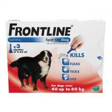 FRONTLINE Spot On Dog XLarge - 3 pipettes 3s