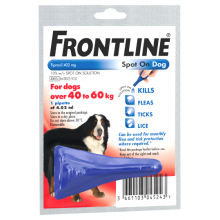 FRONTLINE Spot On Dog XLarge - 1 pipette 1s