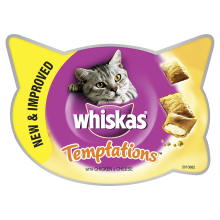 Whiskas Temptation Chicken & Cheese 60g