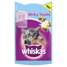Whiskas Kitten Milky Treats 2-12 Months 55g