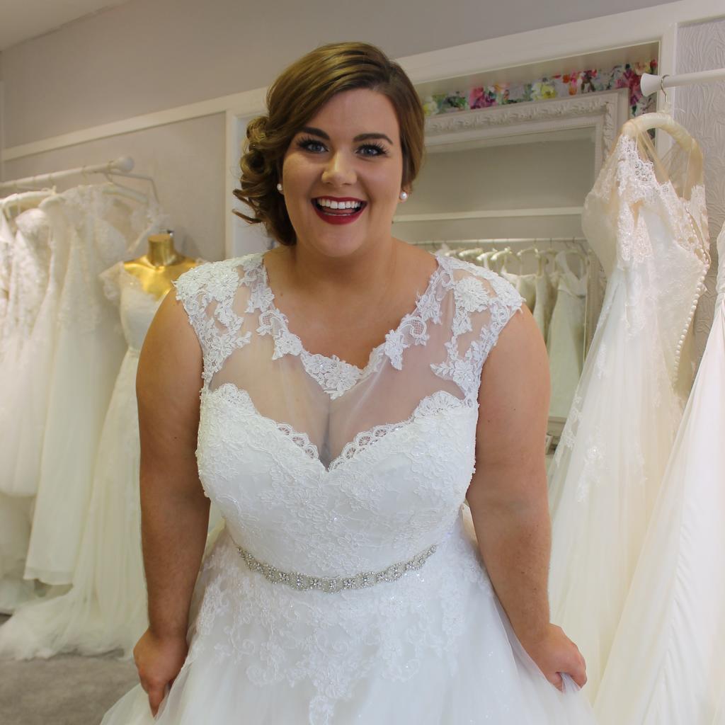 wedding dress shops for plus size brides