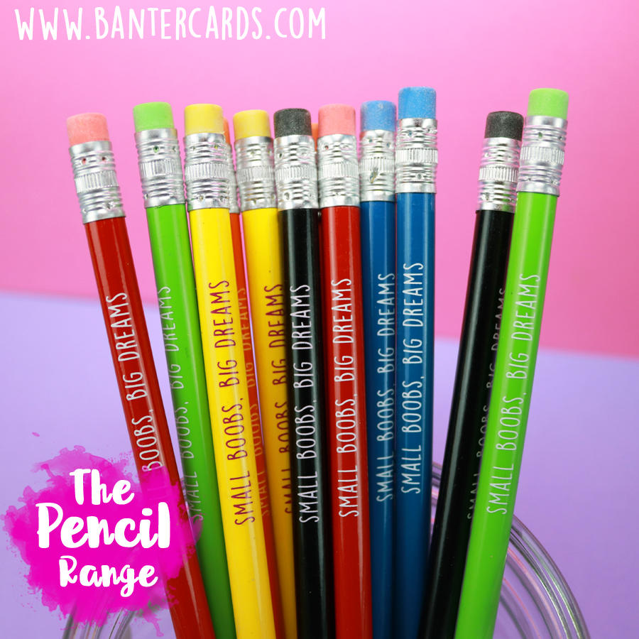 Banter Cards Pencils