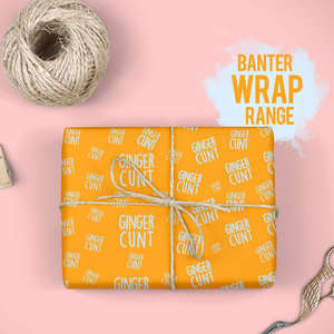 Banter Cards Wrapping Paper