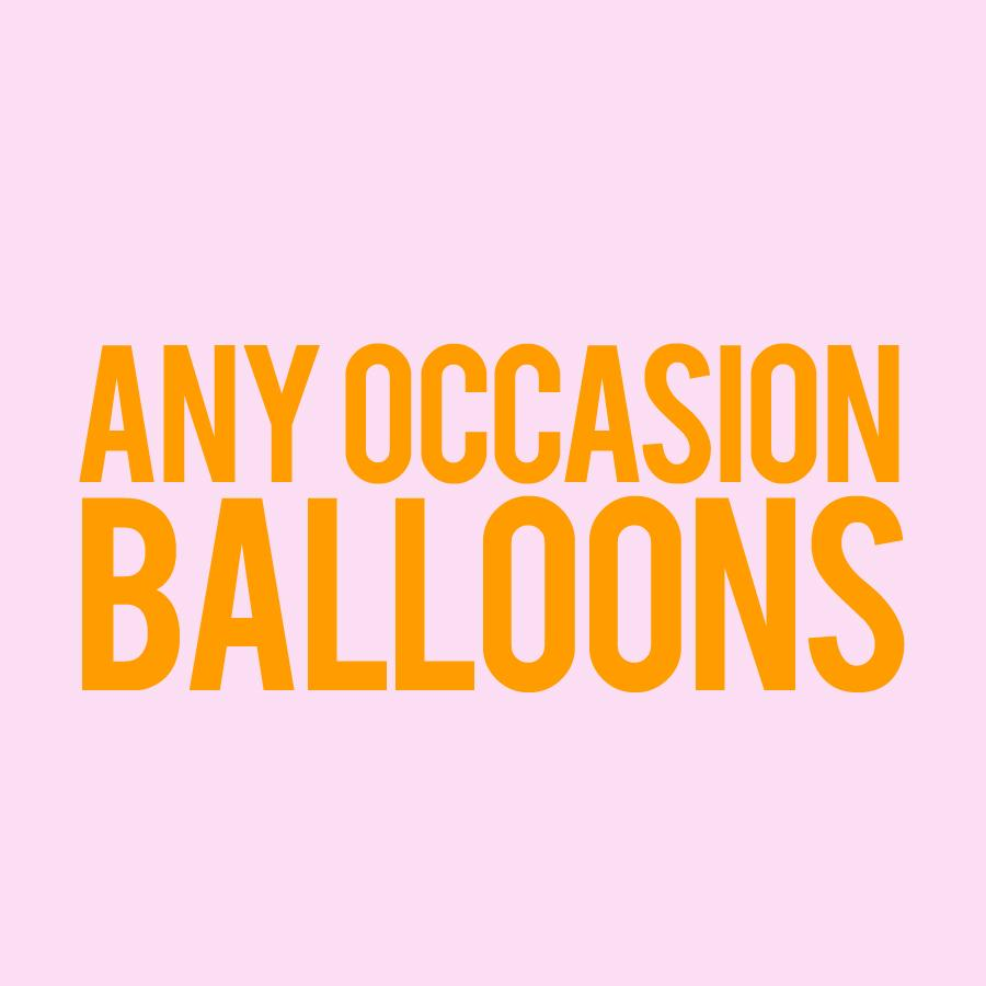 Balloons - Any Occasion