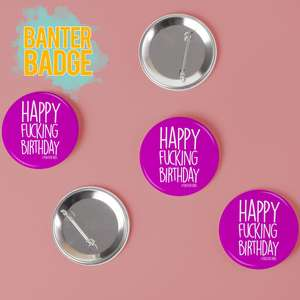 Banter Cards Badges