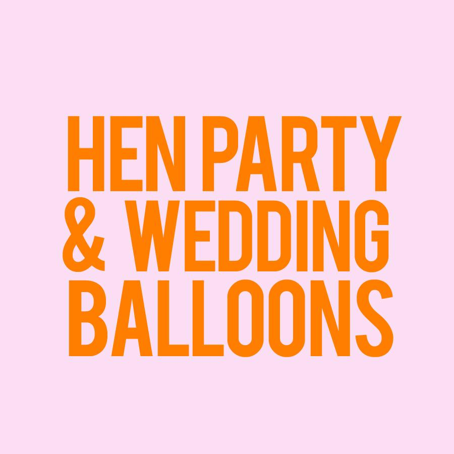 Balloons - Hen Party/Wedding