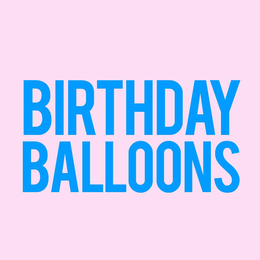 Balloons - Birthday
