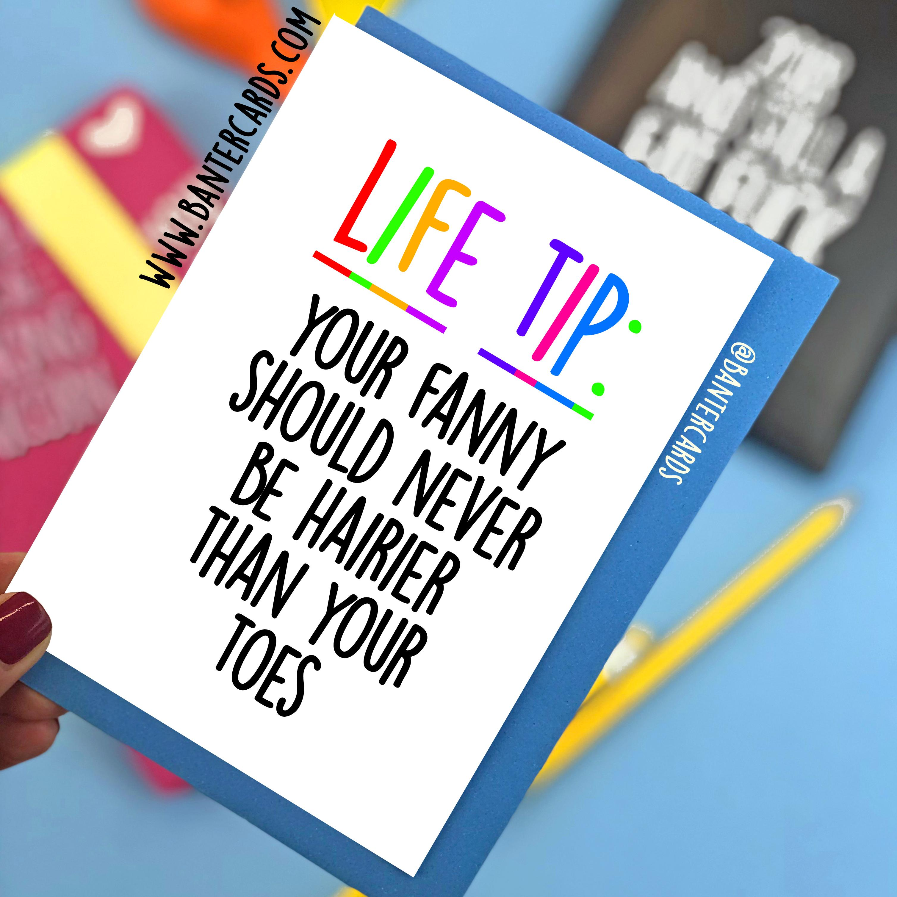 Motivational/Life Tips Cards