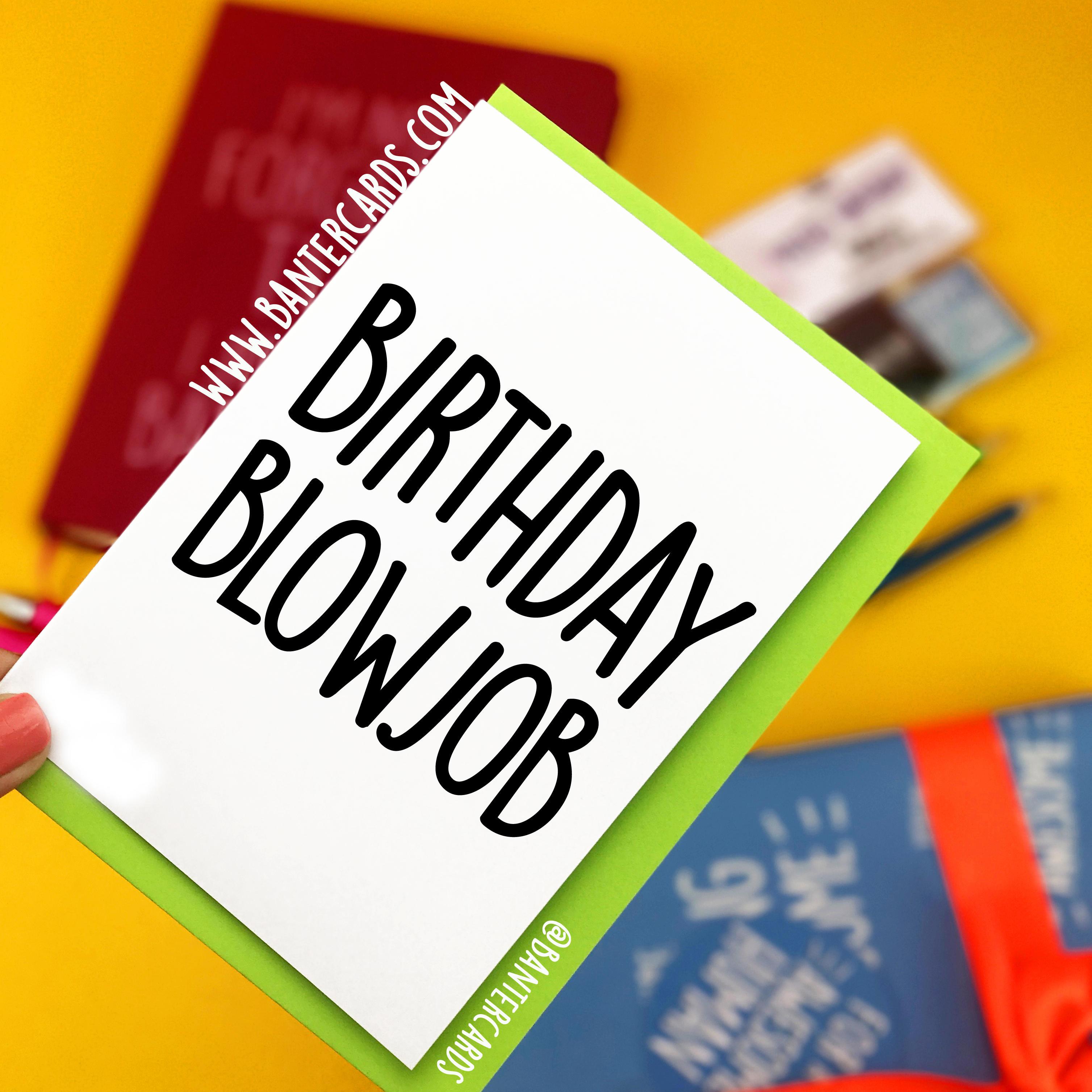 blowjob for birthday