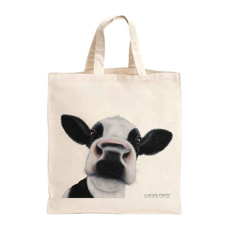 Friesian Cow Bag, dairy cow bag, black and white cow bag, Reusable Bag, Bag for life, sustainable bags, ethical brand, shopping tote, gym bag, handbag, Shoulder Bag, Canvas Bag, Tote Bag