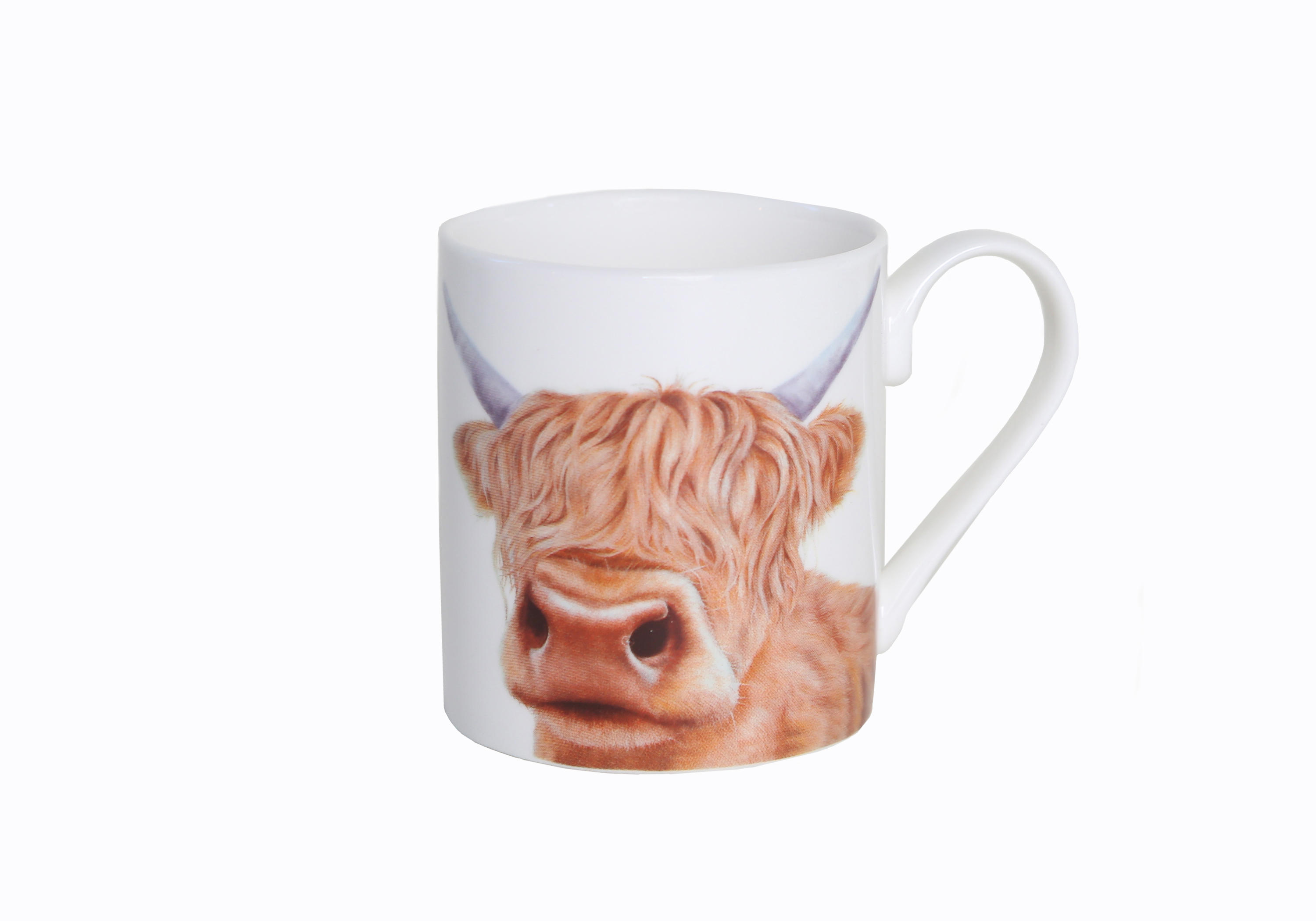 Moo Mug - Hairy Moo - Back