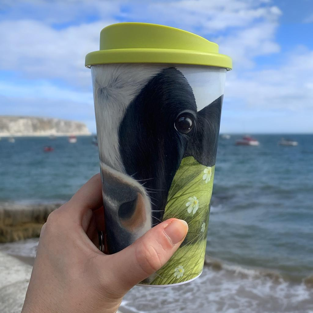 Have you seen our new Thermal Travel Moo Mugs?