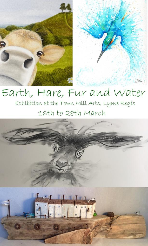 Earth, Hare, Fur and Water - upcoming exhibition