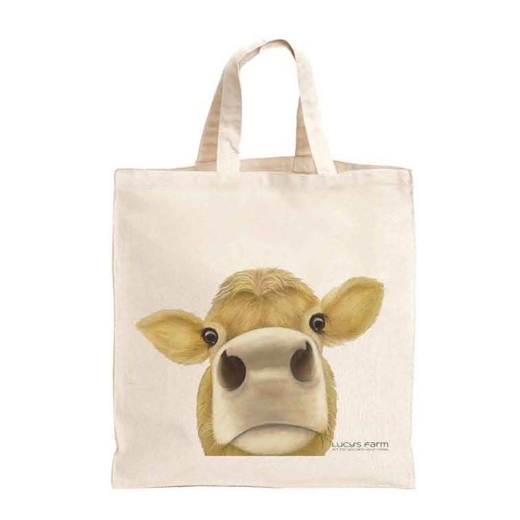 Jersey Cow Bag, Reusable Bag, Bag for life, sustainable bags, ethical brand, shopping tote, gym bag, handbag, Shoulder Bag, Canvas Bag, Tote Bag