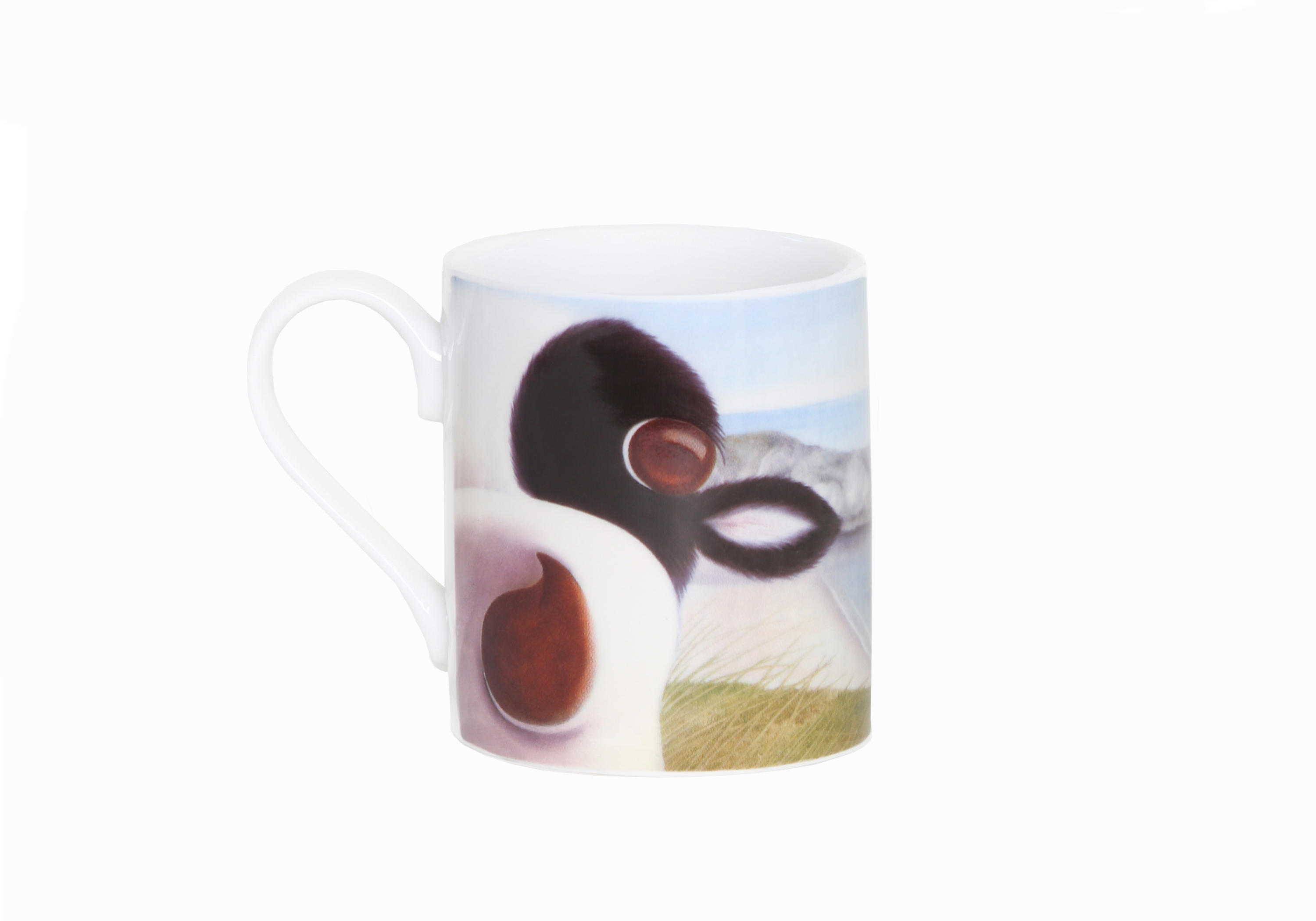 Moo Selfie at Durdle Door Moo Mug - Front