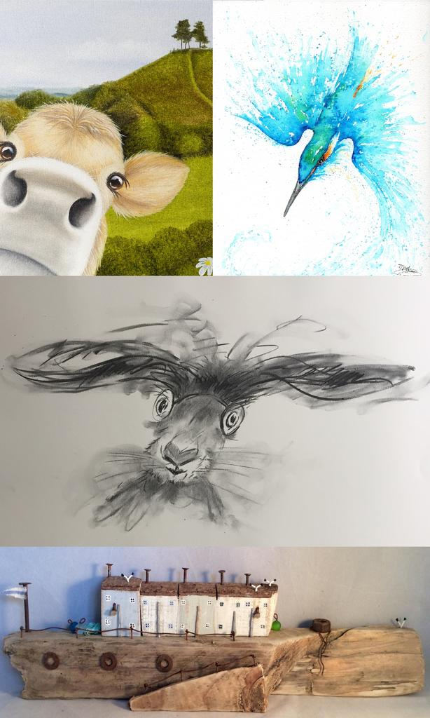 'Earth, Hare, Fur and Water' meet the artists....